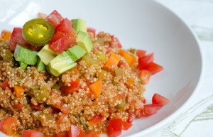 What's for Dinner | Mexican Quinoa (FodMap Friendly)