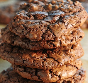 Spicy double chocolate cookies