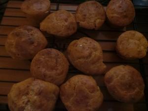 Super Cheesy Mini Muffins